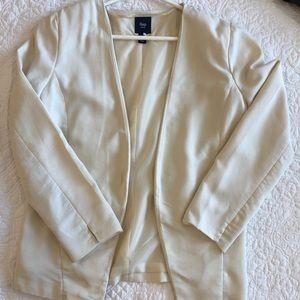 Cream Gap Factory blazer